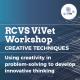 Interactive workshop creative thinking